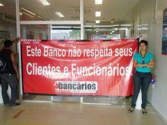 Sindicato impede abertura do Bradesco em Marabá