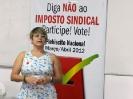 Lançamento da campanha Não ao Imposto Sindical