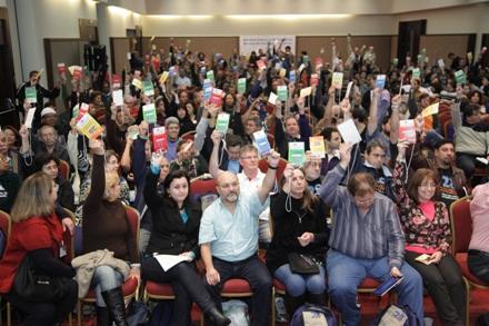 Delegados reafirmaram estratégia de campanha nacional unificada
