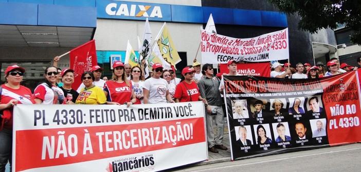 Classe trabalhadora toma as ruas de Belém contra o PL4330
