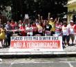 Domingo foi dia de protesto contra o PL4330 em Belém