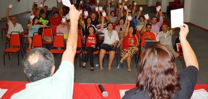 10ª Conferência define prioridades da categoria do Pará para a Campanha 2015