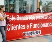 Sindicato fecha agência do Itaú Cidade Nova