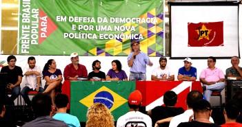 Frente Brasil Popular em favor da democracia é lançada no Pará