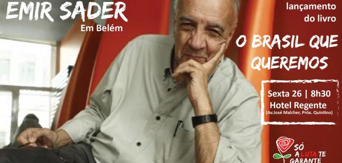 Semana dos bancários e bancárias terá palestra e lançamento de livro de Emir Sader nessa sexta (26)