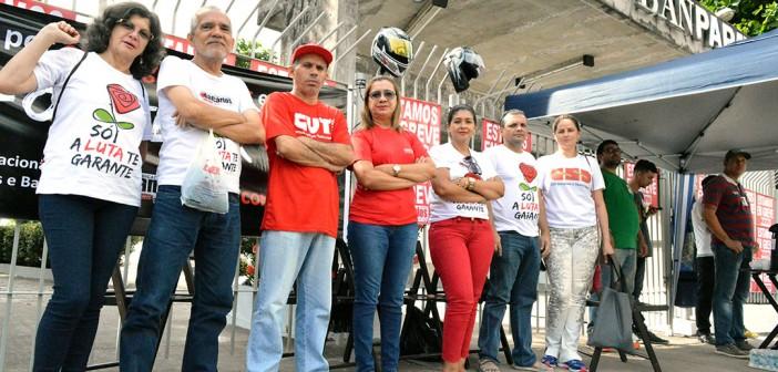CN2016: 18º dia de greve com ato na Sutec do Banpará