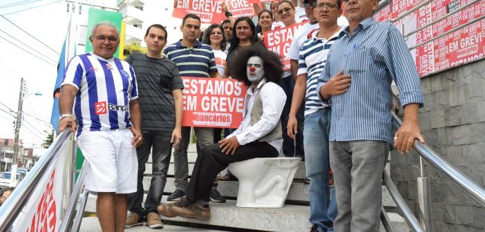 CN2016: Contra o desrespeito, bancários param agência Belém Reduto do Banco da Amazônia