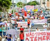 Não às reformas de Temer ecoou nas ruas do Pará nesse 15 de março