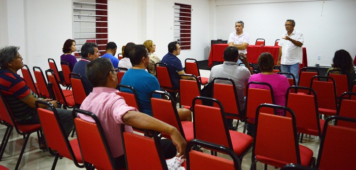 Reunião Com Quadro de Apoio sobre ACP