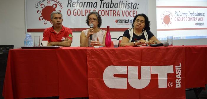 Seminário em Belém intensifica debate e mobilização bancária contra a Reforma Trabalhista