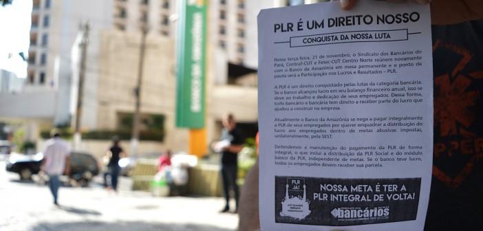 Dia de negociação, é dia de mobilização no Banco da Amazônia