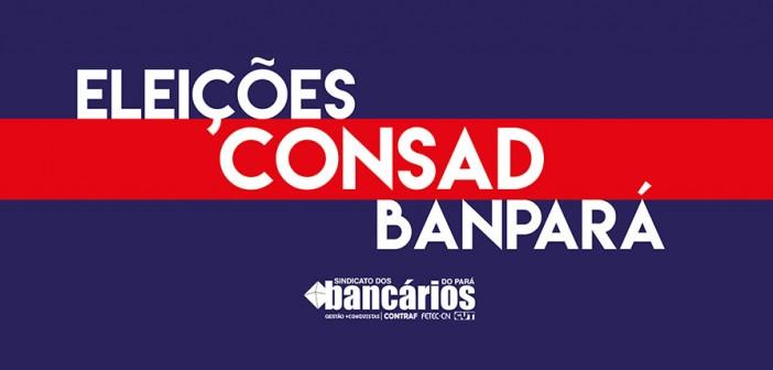 CONSAD Banpará: Edital de resultado final e encerramento das eleições