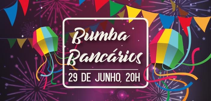 BumbaBancários 2018 está chegando 'pessoar'