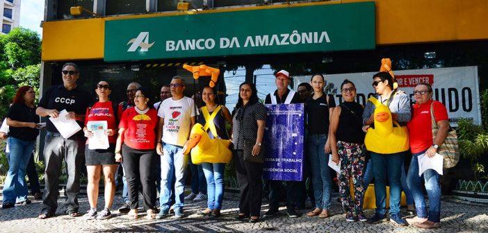 Dia do Basta: Categoria bancária, em Campanha Salarial, presente na mobilização nacional