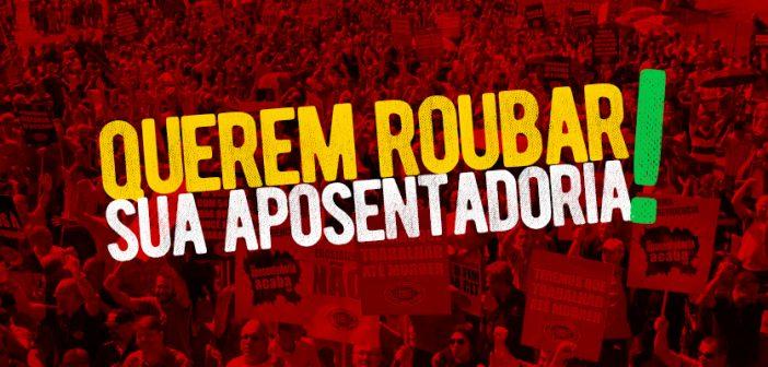 CUT lança site 'Reaja Agora' contra a 'reforma' da Previdência de Bolsonaro