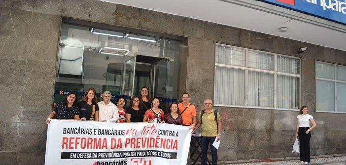 Análise da 'reforma' da Previdência é adiada, mobilização continua!
