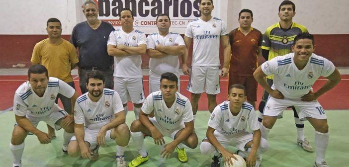 Real Bradesco conquista o 1º turno do Interbancários de Futsal