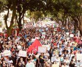 Pará dá aula nas ruas em defesa da educação