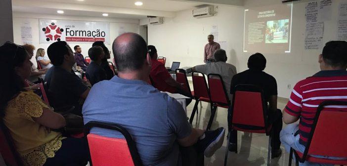 Belém e Marabá recebem segundo módulo do Ciclo de Formação Sindical