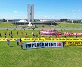 Partidos de oposição protocolam primeiro pedido de impeachment coletivo de Bolsonaro