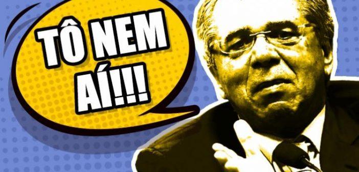 Guedes mostra desprezo pelo Banco do Brasil e pelas pequenas empresas