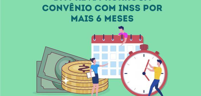 INSS prorroga até junho convênio para pagamento da aposentadoria