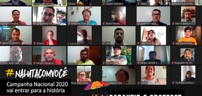 CN2020: Coletivo Nacional de Comunicação avalia Campanha Nacional