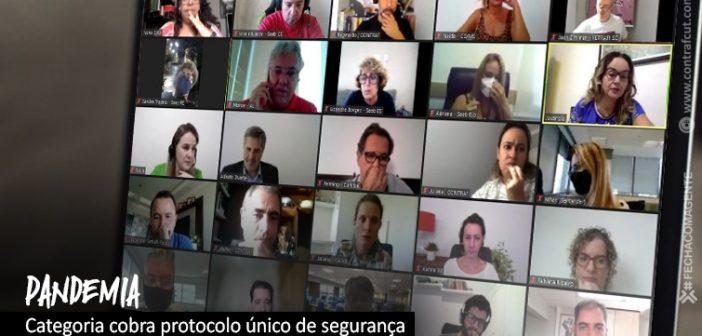 Fenaban apresentará proposta de protocolo mínimo de segurança contra a pandemia