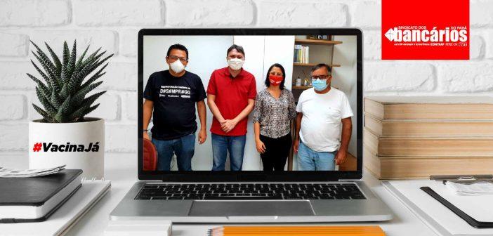 Vereador Ilker Moraes aprova requerimento em Marabá por Vacina Já aos bancários